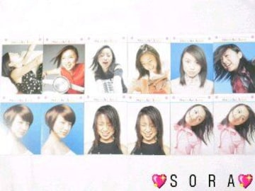【鈴木あみ】トレーディング.コレクションカード.トレカ12枚セット�G