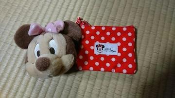 ディズニー☆ミニーコインケース☆ポーチ☆ティッシュケース
