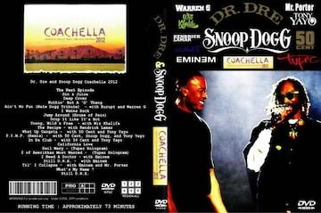 COACHELLA hiphop 祭典 2012 SNOOP DOG DR.DRE pop