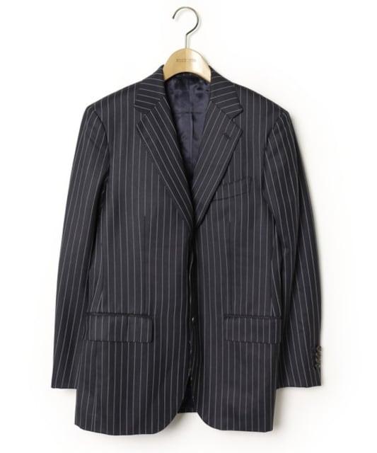 ☆ユナイテッドアローズ 3ピース セットアップ スーツ/メンズ/S☆ネイビー  < ブランドの