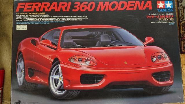 タミヤ 1/24 フェラーリ 360 モデナ  < ホビーの