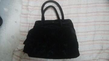 黒手提げバッグ