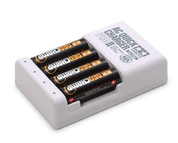 単3形ニッケル水素充電池ネオチャンプ (4本) と急速充電器