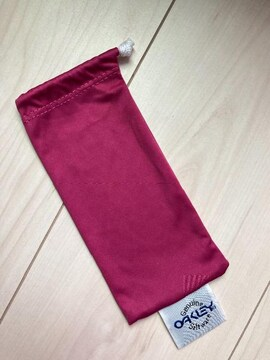 Oakley オークリー サングラスケース 巾着袋 ピンク 袋