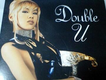 豪華共演作! Doubleダブル feat.キックザカンクルー(KREVA)「U」限定アナログ盤