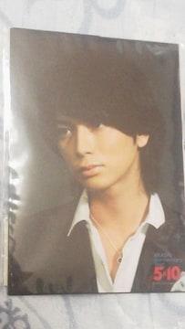 激安未開封美品松本潤『嵐 Anniversary 5x10』写真4枚セット