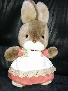 新品 うさぎ ぬいぐるみ ウサギ 兎 昭和 レトロ ファンシー 人形