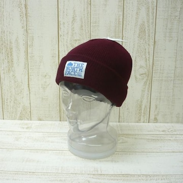 即決☆ノースフェイス特価クラシック ワークビーニー RED/F ニット帽 キャップ 新品