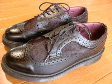 ドクターマーチン NASH ハラコ 2トーン ブーツ 25 美品