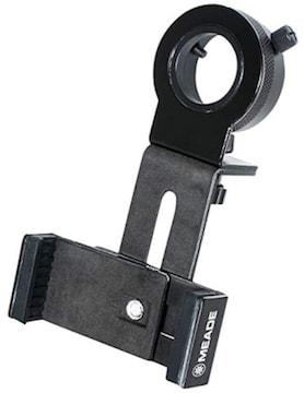 ブラック MEADE 天体アクセサリー スマートフォン撮影アダプター