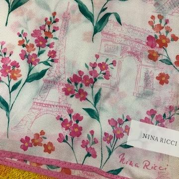 ニナリッチ シルクスカーフ