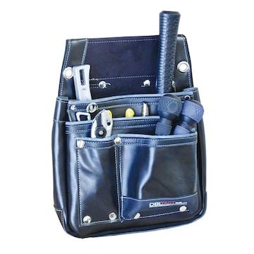 新品 【DBLTACT】本革腰袋 ブラック DTL-07-BK