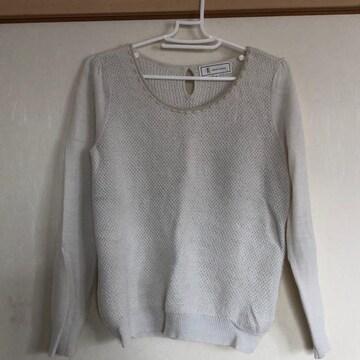 ロペピクニックのアルパカ混のセーター。ニット。