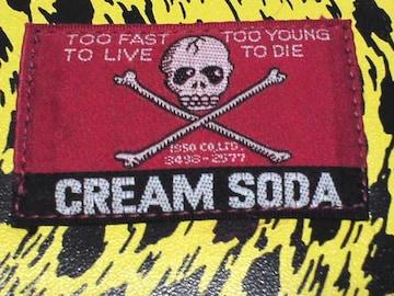 クリームソーダ90S長財布 cream soda ピンクドラゴン