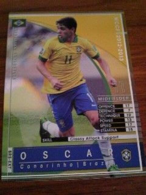 WCCF非売品BRS-EXT[1213オスカル]ブラジル・セレソンver:ZONEプロモーション  < トレーディングカードの