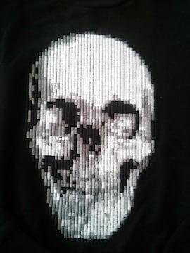 ZARA 刺繍 ドクロTシャツ