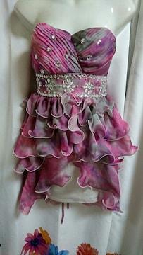 編み上げベア シフォンフリル 4段ナイトドレス