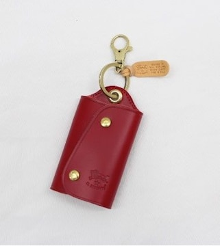 ★イルビゾンテ キーケース(RED)『C0847』★新品本物★