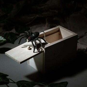 クモ 蜘蛛 ビックリ箱 玩具 飛び出す パーティーグッズ