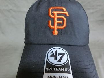 【47BRAND】 MLB サンフランシスコ ジャイアンツ ロゴ刺繍CAP
