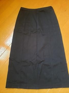 ☆美品☆a.v.v☆ブラックロングスカート☆42