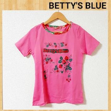 BETTY'S BLUE ベティーズブルー 半袖 ロゴTシャツ 未使用 9