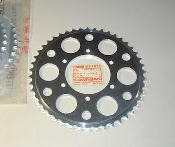 カワサキ KX250 KX250-A アルミ・スプロケット 46T 絶版新品