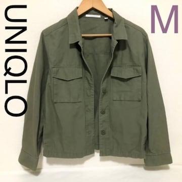UNIQLO ミリタリーシャツジャケット