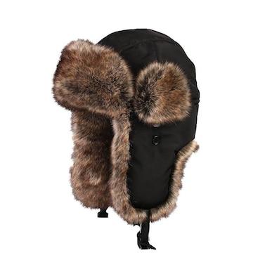 N047 飛行帽 パイロット cap 帽子 防寒 アビエイター Lサイズ