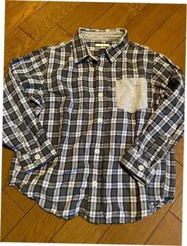 *GU *チェックシャツ *120