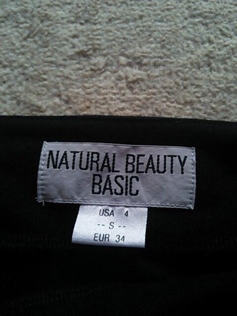 NBB ナチュラル ビューティー  ブラック  S < ブランドの