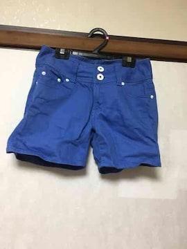 短パン/ショーパン/ブルー/青/M