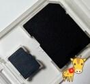 送料無料 Panasonic マイクロSD 2GB microSD SDアダ付 動作保証付