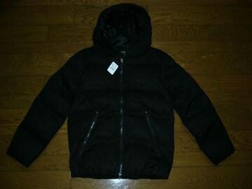 新品LHP中綿パーカージャケットL黒定価半額以下ダウン上野商会