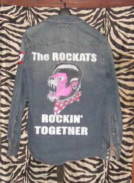 手描きシャツ・ジャケット ROCKATS ロカッツ ロカビリー