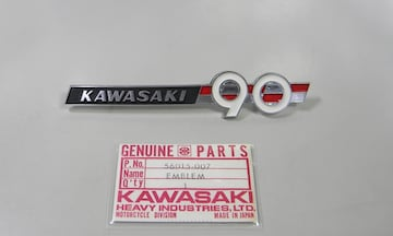 kawasaki  G1 G1L サイドカバー・エンブレム 絶版新品