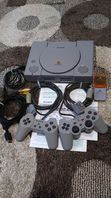 Play Station DUAL SHOCK  < ゲーム本体/ソフトの