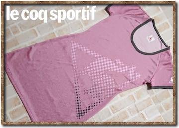 ルコック 刺繍入りワンピース ピンク
