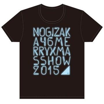 即決 乃木坂46 Tシャツ Merry X'mas Show 2015 _ ブルーver. L