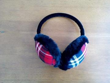 ブルークロス♪女の子用イヤーマフ☆used美品