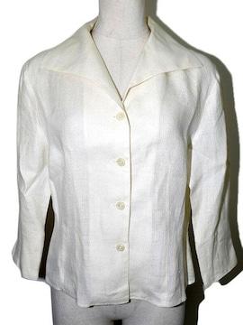 Mc.HENRY 麻ジャケット オフホワイト