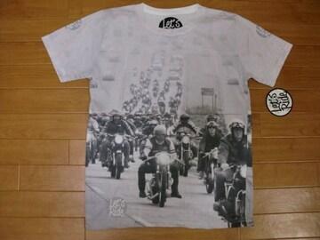 イギリス カフェレーサー フォト Tシャツ Mサイズ 新品
