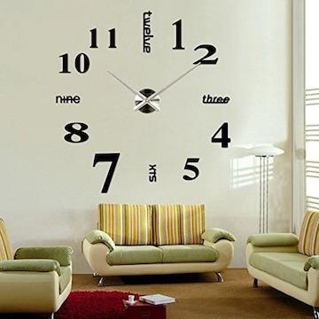 掛け時計 手作り DIY 壁時計 インテリア ブラック
