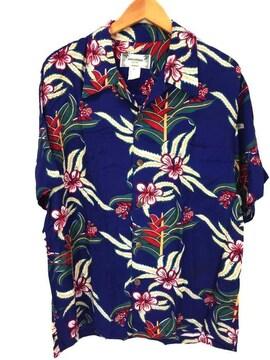 Kamehameha(カメハメハ)USA製 総柄アロハシャツアロハシャツ