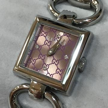【美品】GUCCI トルナヴォーニ 4Pダイヤ 正規腕時計