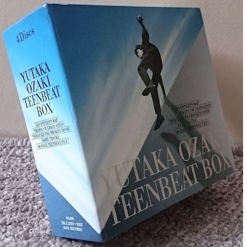 KF  尾崎豊  TEENBEAT BOX  4CD
