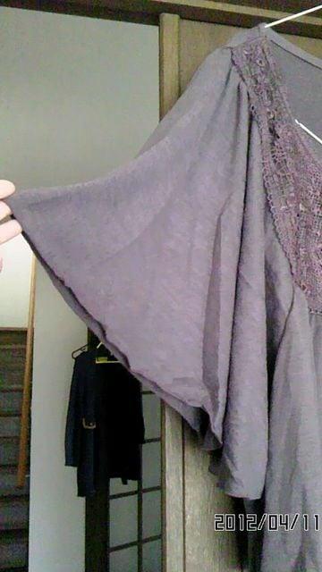 新品未使用☆刺繍ドルマンチュニックM < 女性ファッションの
