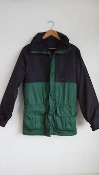マウンテンパーカー 黒×緑 美品 patagonia columbia NORTH FACE