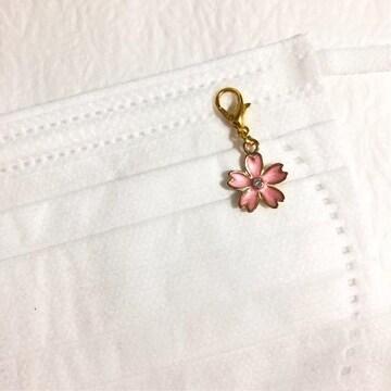 ★マスクチャーム・桜・ピンク・さくら・サクラ�D