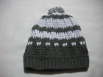 mb500 男 RIP CURL リップカール ボンボン付き ニット帽